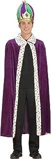 Forum Mardi Gras King Robe and Crown Set