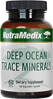 NutraMedix Deep Ocean Trace Minerals - Magnesium, Zinc, Potassium, Boron, Manganese & Phosphorus - Ocean-Sourced Essential...