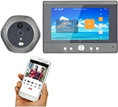 12 V Gris Velleman SCAMSET8 Videoportero con WiFi y Grabaci/ón de V/ídeo