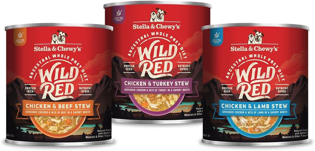 Stella & Chewy's Wild Red Stews Wet Dog Food