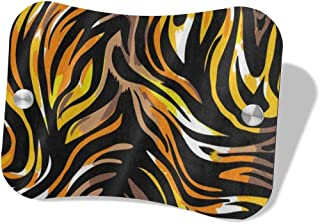 Great Nature Tiger Animal Print Wood Door Hanging Sign Printed Indoor/Outdoor/Wall/Table/Chair/Drawers/Clinic/Law Firm/Hotel/Treatment/Businesses Signs Durable UV and Weather Resistant