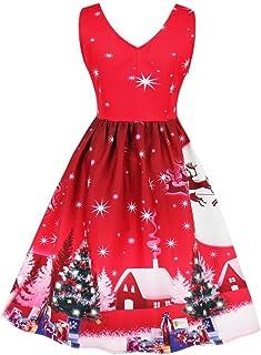 85634e34244 Reaso-Robe Robe de Cocktail Robe de Noël Vintage Robe Midi Robe