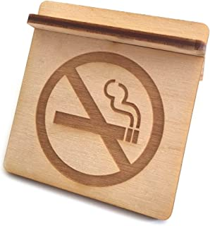 No Smoking Free-Standing Sign Plywood Flatpacked Shop Office Retail Corporate Surgery Cafe Restaurant