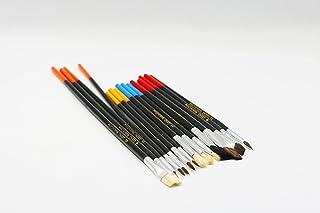 Leeno Set of 15pcs Artist Brushes, 26.5cm, multicolor