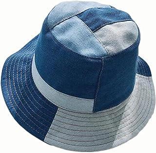 الذكور والإناث الدنيم الدنيم قبعة الصياد خياطة حوض قبعة
