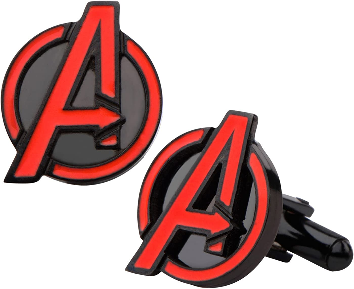 INOX Marvel Avengers Age of Ultron Avengers Logo Stainless Steel Cufflinks