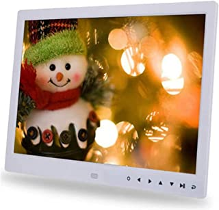 Digital Photo Frame 15 inch, Digital Picture Frame IPS Screen (1366X768) High Resolution Support MP3 MP4 Pictures and Vide...