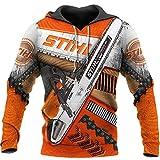 Women Galaxy Printed Hoodies Sweatshirt 3D Suit Pullover Streetwear Chainsaw XXL