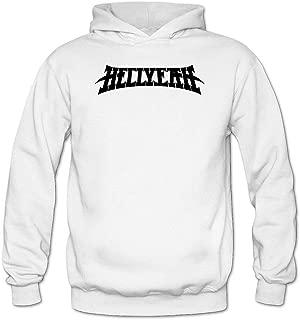 Women's Hellyeah Logo Long Sleeve Sweatshirts Hoodie