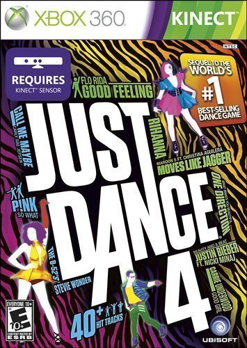 Portable, Just Dance 4 - Xbox 360 PlatformForDisplay: Xbox 360 Consumer Electronic Gadget Shop