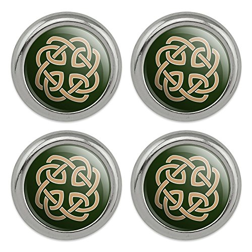 Celtic Knot Love Eternity Metal Craft Sewing Novelty Buttons - Set of 4
