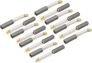 Sourcingmap 15 cepillos de carbono, para motor eléctrico, 20 mm x 5 mm x 5 mm, herramienta eléctrica, taladro manual, soplador, licuadora, pieza de reparación de repuesto