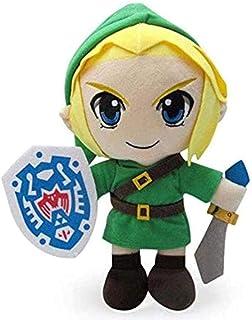 N-T Cartoon Zelda Plush Toy Cute Lovely Toys Cute Link boy Zelda Soft Plush Animal Doll Toy for Kids 30 cm