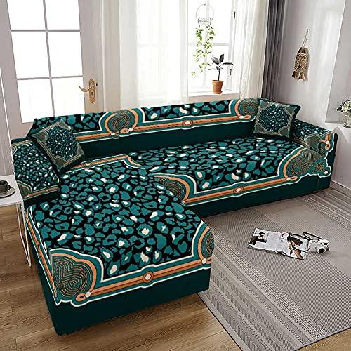 WXQY Coolazy Stretch Plaid Sofa Fundas de sofá elásticas Fundas de sofá para Sala de Estar Sofá Silla Funda de sofá Decoración para el hogar A1 2 plazas