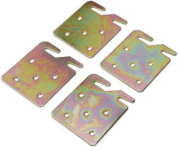 Hydraker 月个月通用镀锌床身导轨支架金属爪钩板