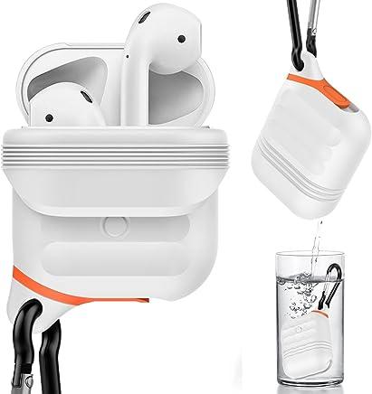 Airpods non inclusi consente di non perdere gli auricolari adatto per lo sport, cavo per auricolari AirPods in silicone da indossare al collo WEIHUIMEI