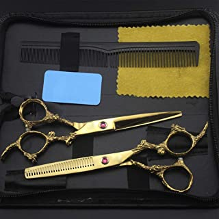 Professional Hairdressing Scissor Perfect for Hair Salon Barber Hairdresser and Home Use to Trim Your Beard Haircut, Comes...