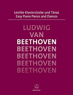 Easy Piano Pieces and Dances Beethoven