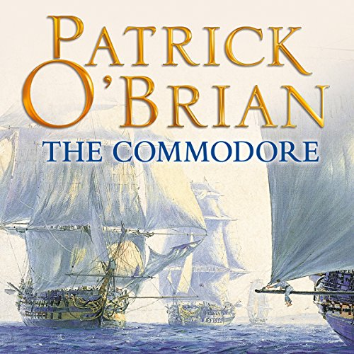 The Commodore audiobook cover art