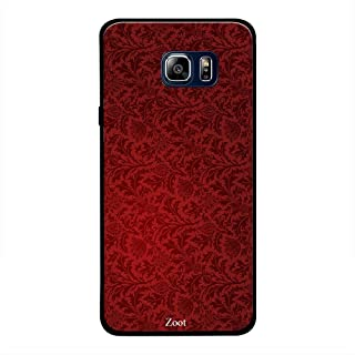 Samsung Galaxy Note 5 Red Floral Pattern, Zoot Designer Phone Covers