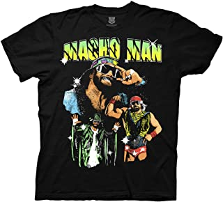Ripple Junction WWE Macho Man Randy Savage Collage Adult T-Shirt