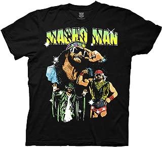 WWE Macho Man Randy Savage Collage Adult T-Shirt