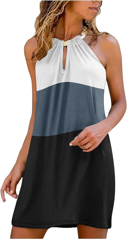 HUIHAIXIANGBAO Womens Dresses Off Shoulder Lace Mini Dress Casual Summer Beach Sundress Short Tunic T Shirt Party Dress