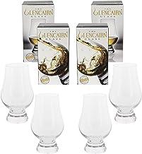Glencairn Crystal Whiskey Glass, 4 Pack Gift Set