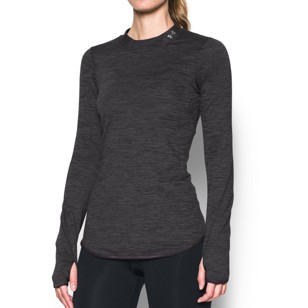 Under Armour Ladies Doubleknit ColdGear Mock Top Womens Long Sleeve Base Layer
