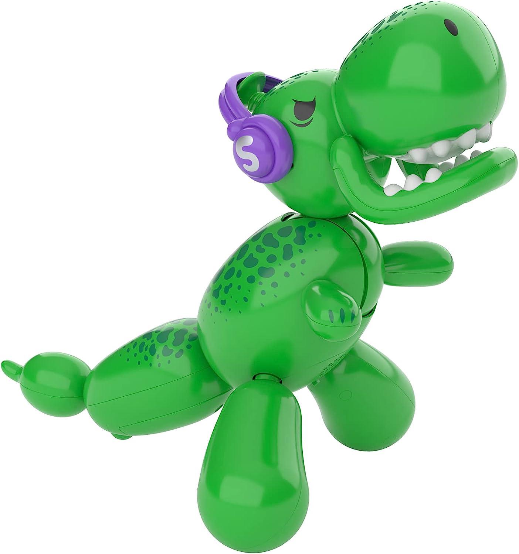 Squeakee The Balloon Dino - Full view