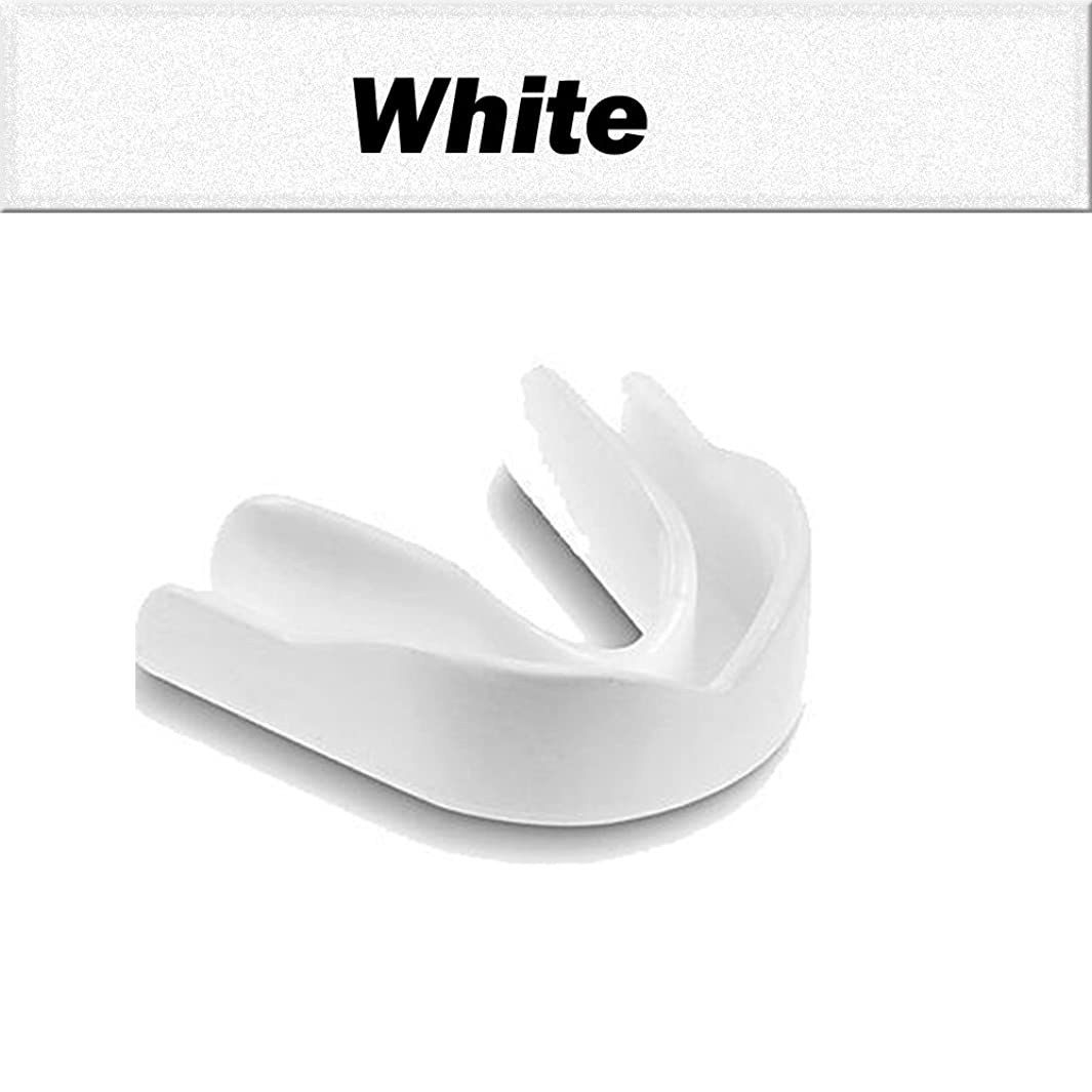 Gum Shield Mouth Guard Boil Bite Mouthguard All Sport Boxing Martial Art Football hockey Rugby Baseball Karate Cricket ADULTS size nheeathxf28