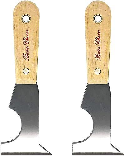 Bates Paint Scraper - Pack of 2 Putty Knife Scraper, Scraper, 5 in 1 tools, Spackle Knife, Caulk Removal Tool, Painte...