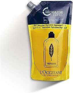 L'Occitane Crisp Citrus Shower Gel Enriched With Grapefruit Extract and Organic Verbena