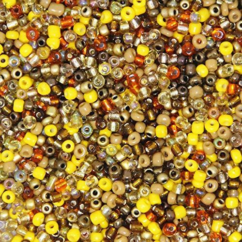 3mm 300 Uds Rosa Multicolor checo cuentas espaciadoras de semillas de cristal cuentas redondas de cristal austriaco para niños joyería DIY g accesorio-dorado multicolor