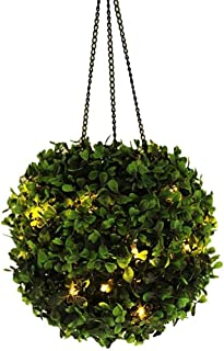 Dtong Solar Hanging Light for Garden, Solar Lamps for Outdoor, Artificial Rattan Ball Decorative, Waterproof LED Lamp Deco...
