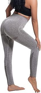 High Waisted Leggings Stretch Women Yoga Pants Tummy Control Running Pants Seamless Leggings for Women