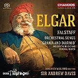 Elgar: Falstaff / Orchestral Songs /+ - Roderick Williams