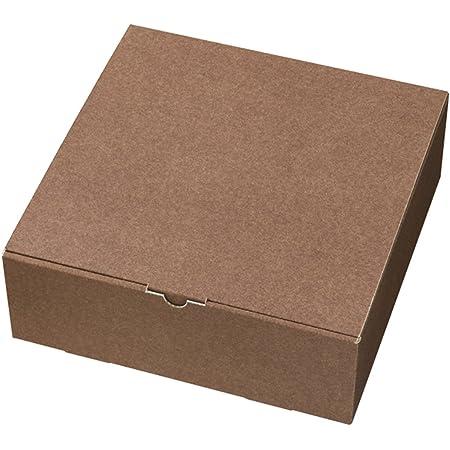 ヘッズ 日本製 無地 ギフト ボックス W303×H105×D308mm ブラウン 10枚 箱 HEADS MBR-GB6