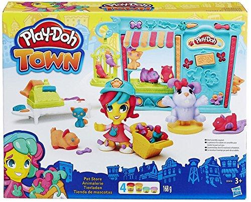 Play-Doh Hasbro B3418EU4 - Town Tierladen, Knete