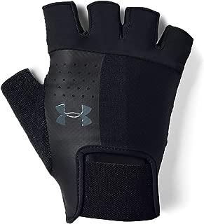 Under Armour Ua Men'S Training Glove-Blk Unisex Eldiven, Siyah (Siyah 001), M (Üretici Ölçüsü: M)