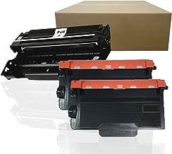 Inktoneram Compatible Toner Cartridges & Drum Replacement for Brother TN850 TN820 DR820 TN-850 TN-820 DR-820 HL-L5100DN HL-L5200DWT HL-L6200DWT ([Drum, 2-Toner], 3-Pack)