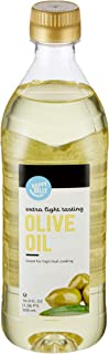 Amazon Brand - Happy Belly Extra Light Tasting Olive Oil, 500 mL