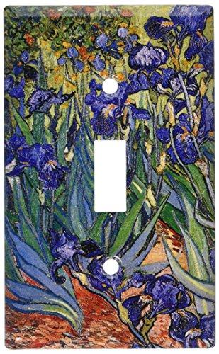 Art Plates - Van Gogh: Irises Switch Plate - Single Toggle