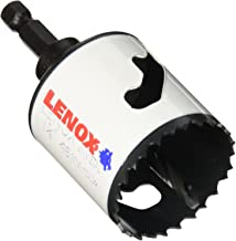 """LENOX Tools Bi-Metal Speed Slot Arbored Hole Saw with T3 Technology, 1-7/8"""""""