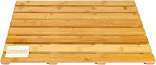 woodluv Tarima Rectangular bambú skippys - Grande