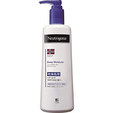 Neutrogena(ニュートロジーナ) ノルウェーフォーミュラ ディープモイスチャー ボディミルク 乾燥肌用 無香料 単品 250ml リキッド