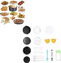 Conjunto de cesta de molde de bolo, acessório de fritadeira Acessórios de cozinha prática para casa para jardim
