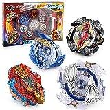 Lavendei Kampfkreisel Set   4D Fusion Modell Metall Masters Speed Kreisel mit Basis-Arena für Kindertag, Ostern, Weihnachten, Geburtstag und Neues Jahr (Kit 1)