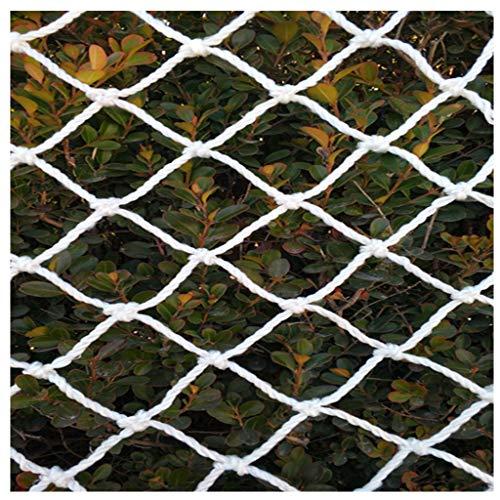 Sicuro Copertura della Rete di Protezione Rete Bianca 1m x 1m Scoperta Mini Salire Le Scale anticaduta Net Interior Carta da Bambino Playground Decoration (Size : 2 * 10m(6.6ft*33ft))