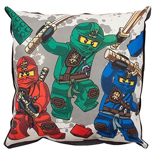LEGO Leinwand-Kissen für Das Krieger Ninjago